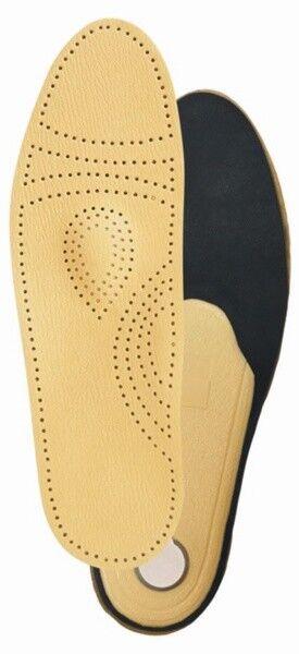 Тривес Стельки ортопедические каркасные на полужесткой основе кожаные ТОП-105 - фото 1