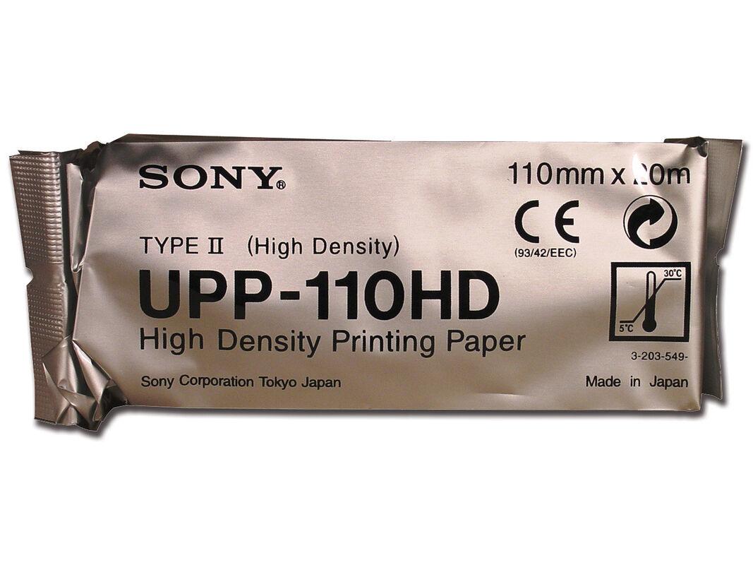 Медицинское оборудование Sony Термобумага для видеопринтеров UPP110HD - фото 1