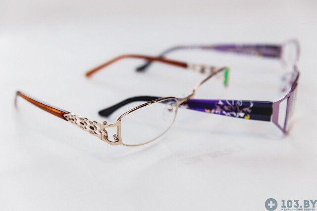 Очки Касияна Очки корригирующие в металлической оправах - фото 6