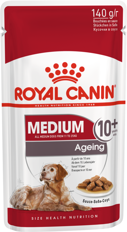 Royal Canin Medium Ageing 10+ 140гр. х 10 шт. - фото 1