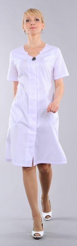 Доктор Стиль Халат медицинский женский Милана (лл2125) - фото 4