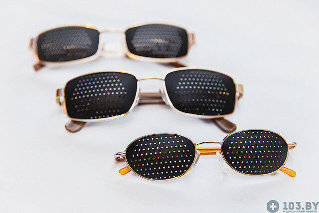 Очки Касияна Очки-тренажеры в металлической оправах - фото 3