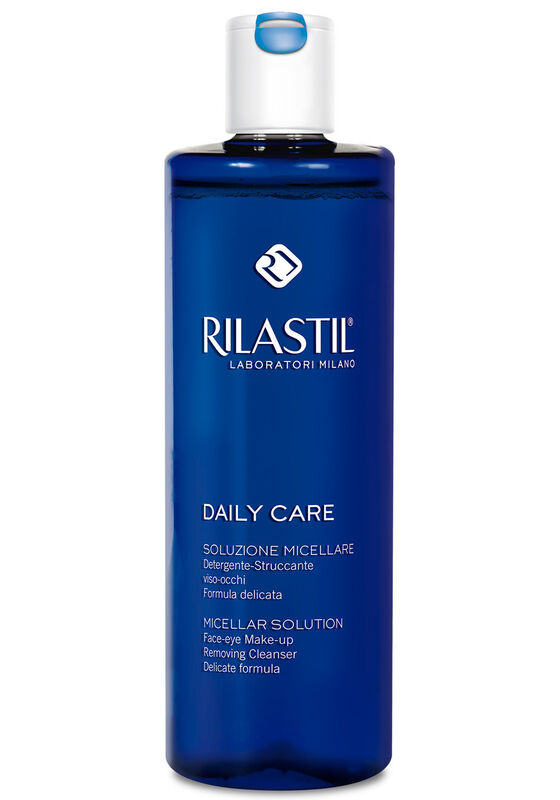 Rilastil Мицеллярная вода для снятия макияжа с лица и глаз для чувствительной кожи DAILY CARE 250 мл - фото 1