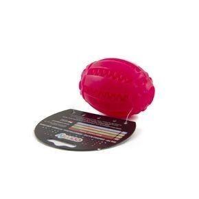 Comfy Игрушка для собаки TOY MINT DENTAL RUGBY розовый - фото 1