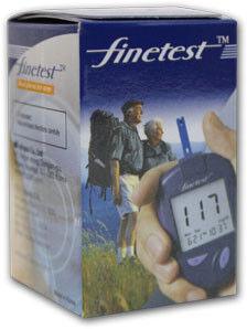 Глюкометр Finetest Тест-полоски 25 шт. - фото 1