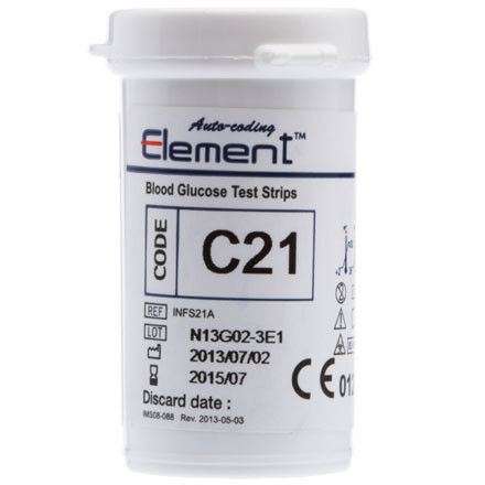 Глюкометр Infopia Тест-полоски для определения глюкозы 25 шт. - фото 1