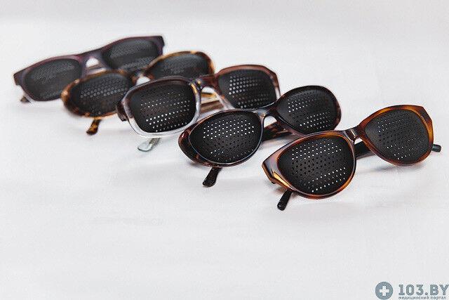 Очки Касияна Очки-тренажеры в пластмассовой оправах - фото 5