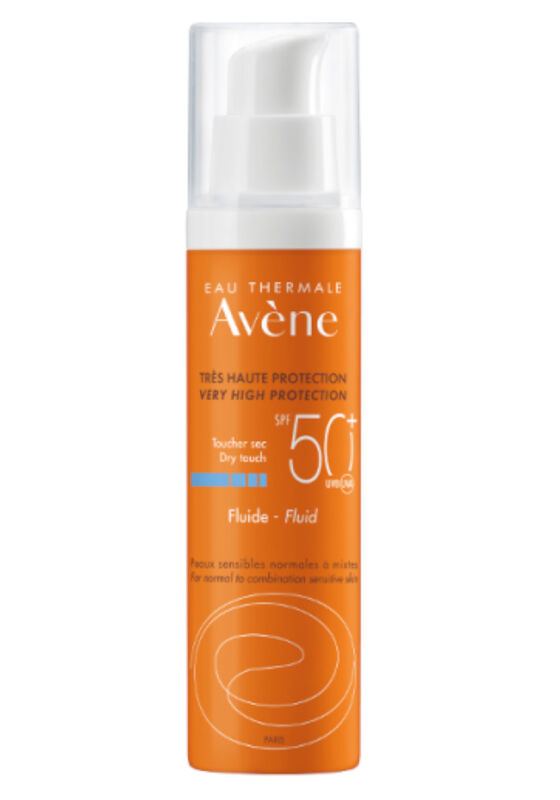 Avene Солнцезащитный флюид SPF50+ 50мл - фото 1