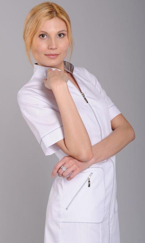 Доктор Стиль Халат медицинский женский Кристи (лс3126) - фото 1
