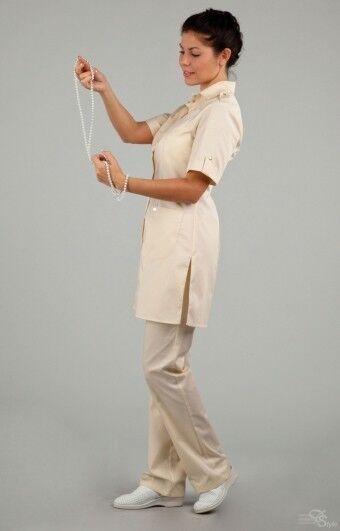 Доктор Стиль Блуза медицинская женская Сафари (лл2229) - фото 3