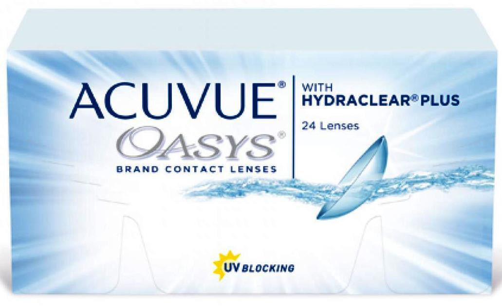 Контактные линзы Johnson&Johnson ACUVUE OASYS with HYDRACLEAR Plus Непрерывное ношение - фото 1