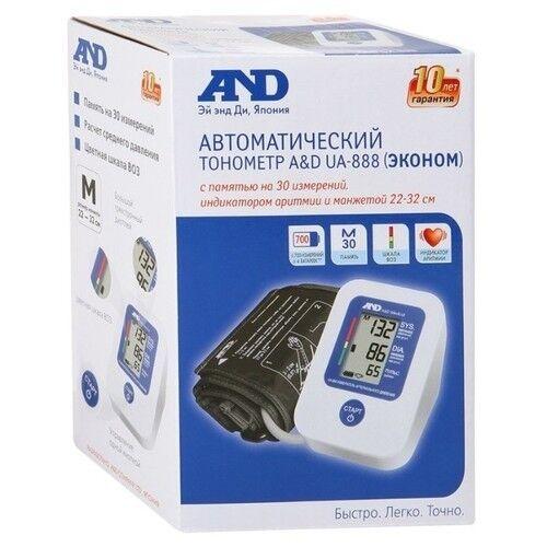 Тонометр A&D Тонометр UA-888 c манжетой 22-32 см - фото 2