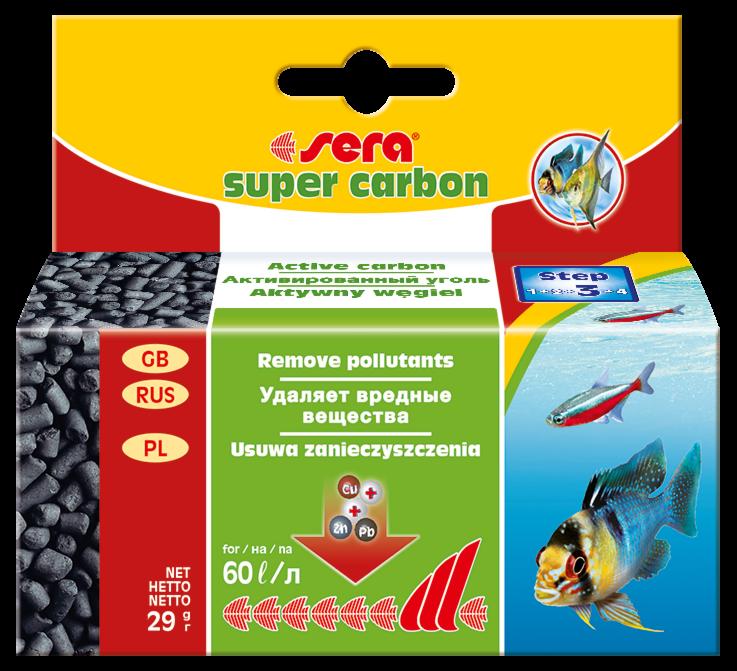 Sera Активированный уголь Super Carbon - фото 1