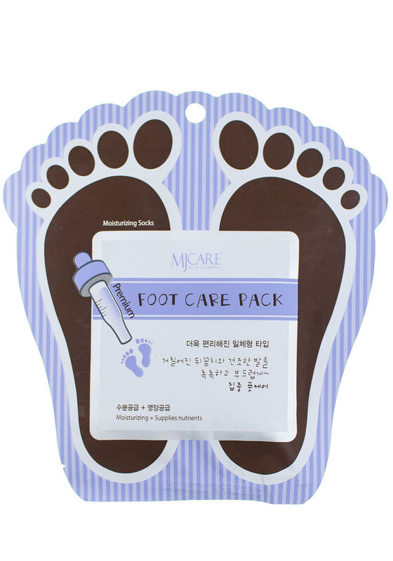 Mijin Маска для ног Premium Foot care pack 10гр*2 - фото 1