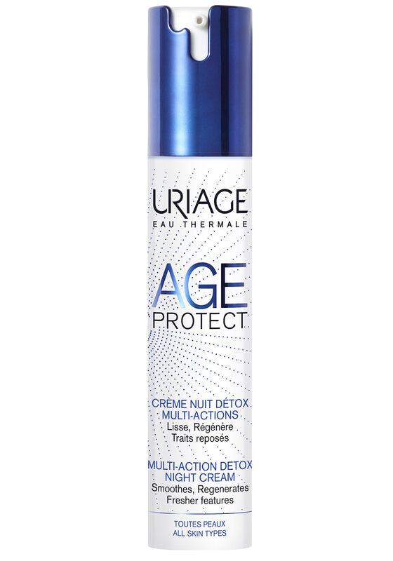 Uriage Крем-детокс для лица AGE PROTECT CREME NUIT DETOX MULTI-ACTIONS многофункциональный ночной 40 мл - фото 1
