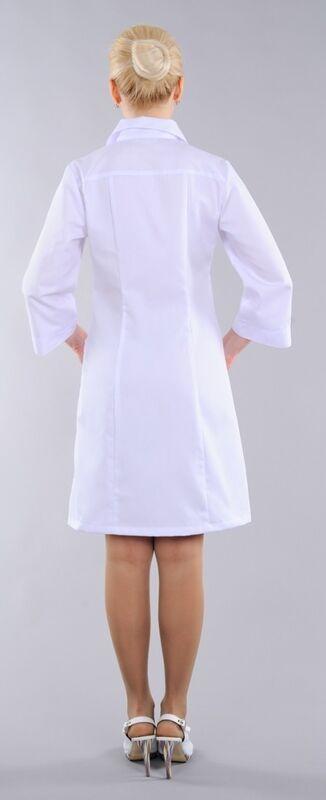 Доктор Стиль Халат медицинский женский Барбара (лл2124) - фото 4