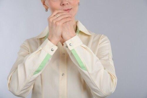 Доктор Стиль Блуза медицинская женская Николь (лс3233) - фото 2
