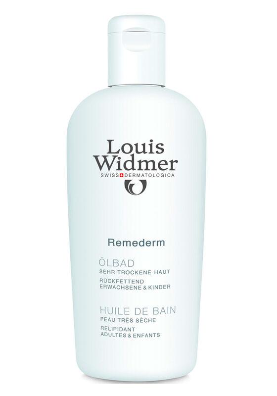 Louis Widmer Масло для ванн Ремедерм для детей и взрослых для сухой и очень сухой кожи 250 мл - фото 1