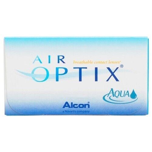 Контактные линзы Air Optix (Alcon) Aqua (3 линзы) - фото 1