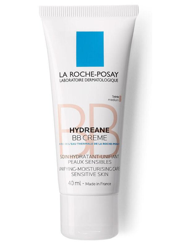 La-Roche-Posay Крем-уход увлажняющий для всех типов чувствительной кожи Hydreane BB Crème светлый, 40 мл - фото 1