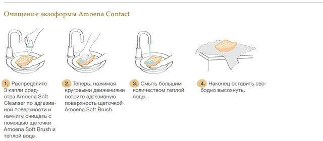 Amoena Немецкий Экзопротез Contact 2S - фото 4