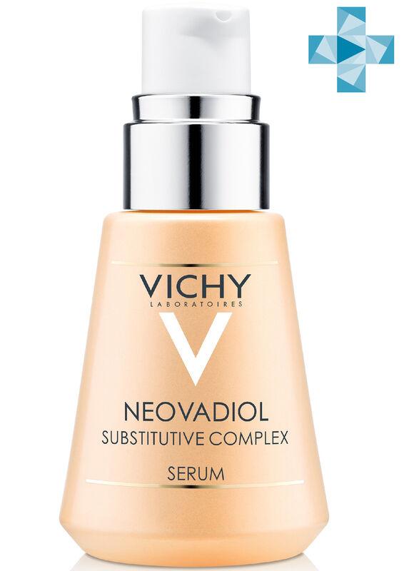 Vichy NEOVADIOL Компенсирующий комплекс, сыворотка для кожи в период менопаузы, 30 мл - фото 1