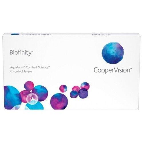 Контактные линзы Cooper Vision Biofinity (6 линз) - фото 1