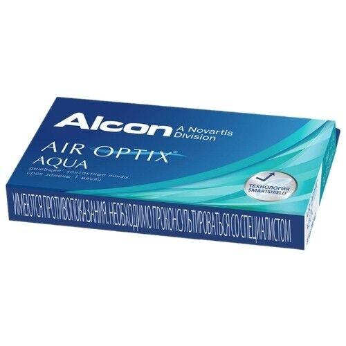 Контактные линзы Air Optix (Alcon) Aqua (6 линз) - фото 5
