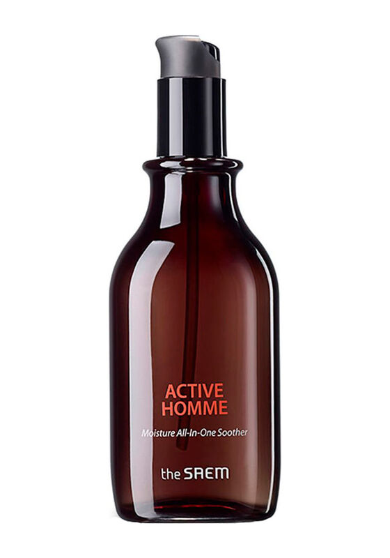 The Saem Средство для лица уходовое многофункциональное Active Homme Moisture All-In-One Soother 160мл - фото 1