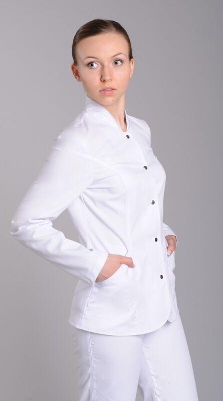 Доктор Стиль Блуза медицинская женская Сандра (лу1224 дл рук) - фото 1