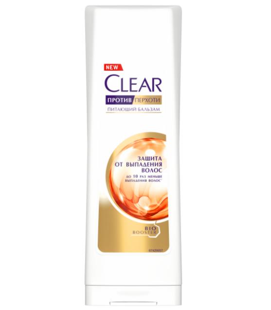 Clear Шампунь «Защита от выпадения», 180 мл - фото 1
