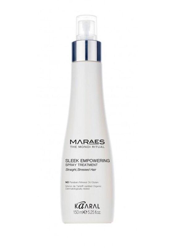 Kaaral Спрей восстанавливающий для прямых поврежденных волос Sleek Empowering несмываемый 150 мл - фото 1