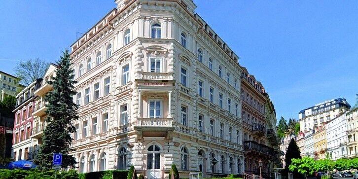 Отдых и оздоровление за рубежом Ibookmed Курорт Карловы Вары Отель Slovan 3* - фото 1