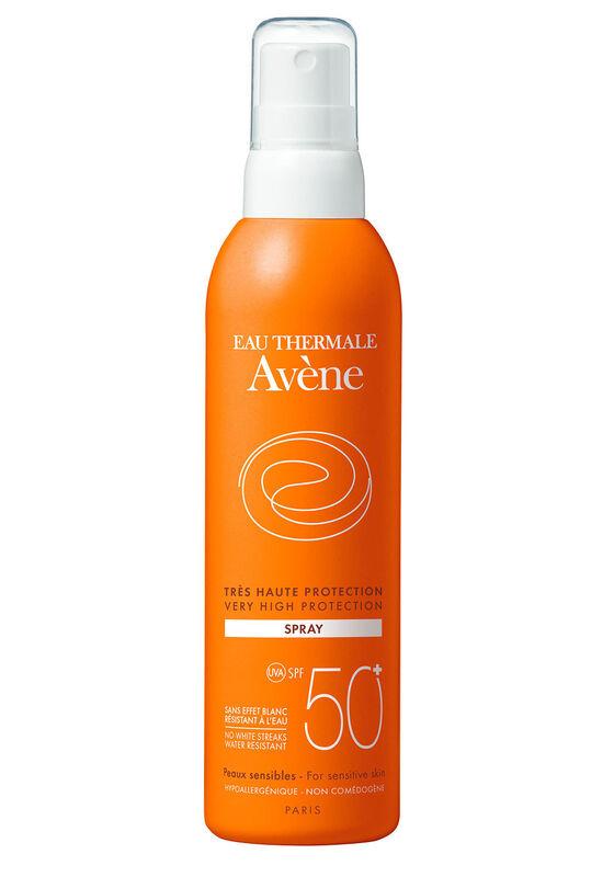 Avene Солнцезащитный спрей SPF 50+ Dry Touch NANO, 200мл - фото 1