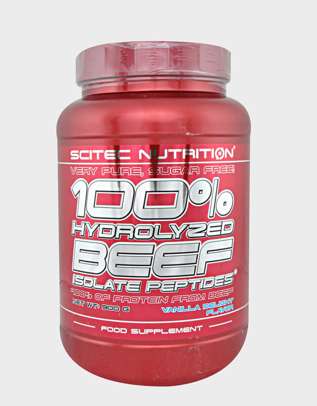 Scitec Nutrition 100% Hydrolyzed beef isolate peptides 900 гр - фото 1