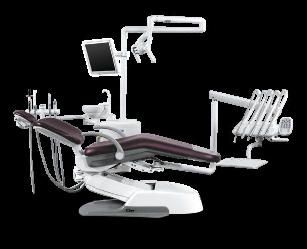 Стоматологическое оборудование Siger Стоматологическая установка U500 с верхней подачей инструментов - фото 1