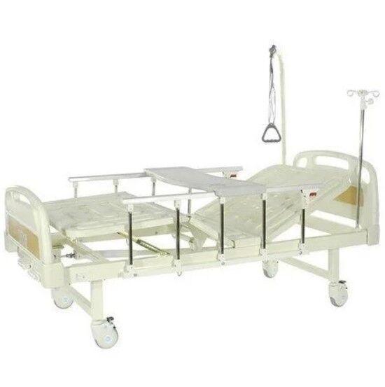 Прокат медицинских товаров Med-Mos Кровать функциональная c механическим приводом Е-8 MM-18 - фото 1