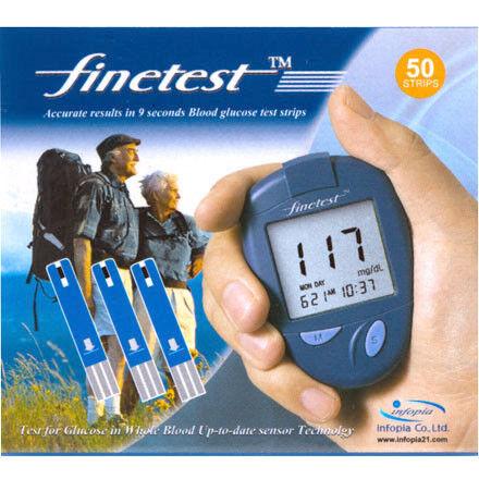 Глюкометр Finetest Тест-полоски  50шт. - фото 1