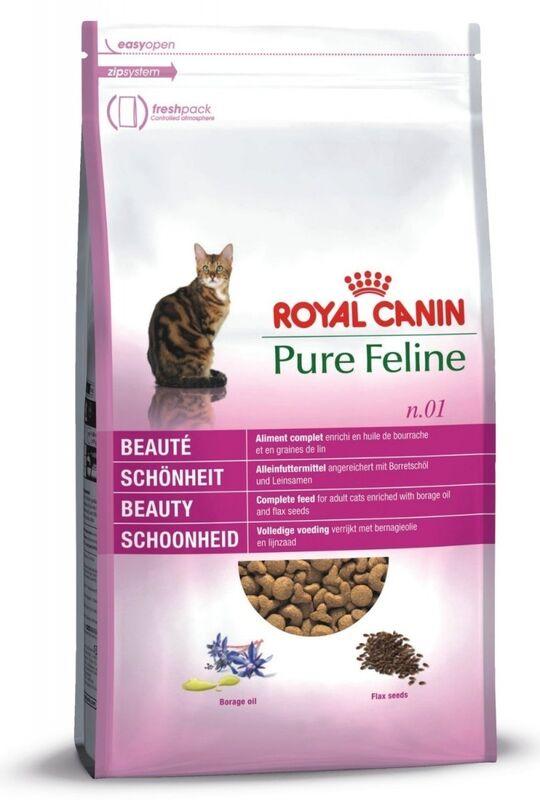 Royal Canin Pure Feline Beauty (Утка) - фото 1