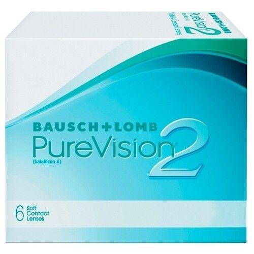 Контактные линзы Bausch+Lomb PureVision 2 HD (6 линз) - фото 2
