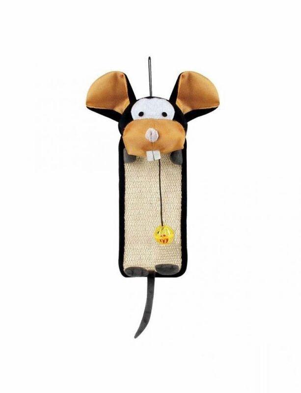 Когтеточка Triol Коврик-когтеточка «Веселая мышь» - фото 1