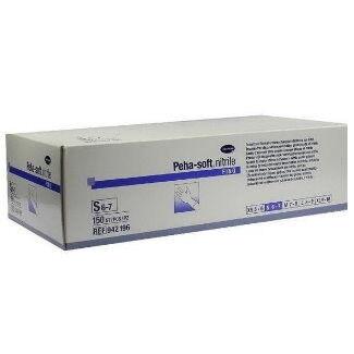 Медицинское оборудование Hartmann Перчатки смотровые нестерильные неопудренные Peha-soft Nitrile Fino - фото 1