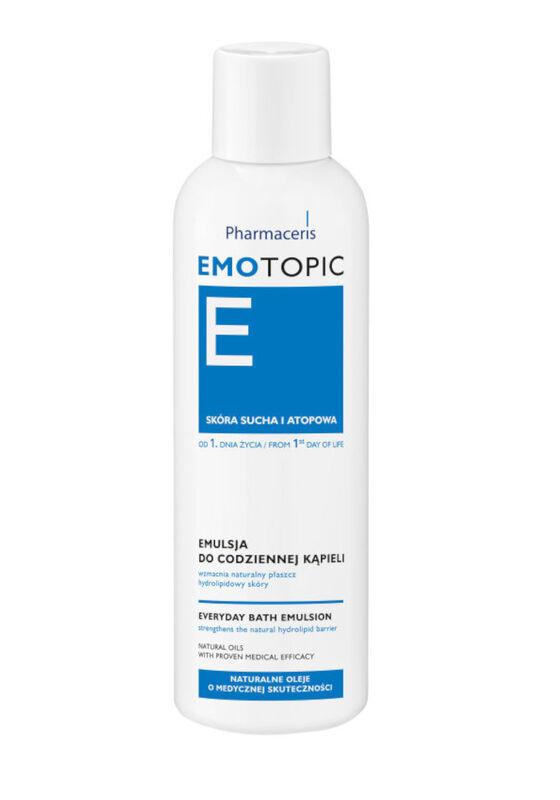 Pharmaceris Эмульсия Е Смягчающая для ежедневного принятия ванны (c первых дней жизни, для детей и взрослых) 200 мл - фото 1