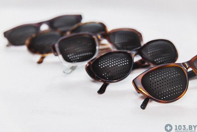 Очки Касияна Очки-тренажеры в пластмассовой оправах - фото 4