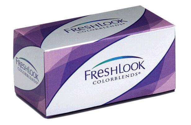 Контактные линзы CIBA Vision Freshlook Colorblends Серебряный серый (Sterling Grey) - фото 1