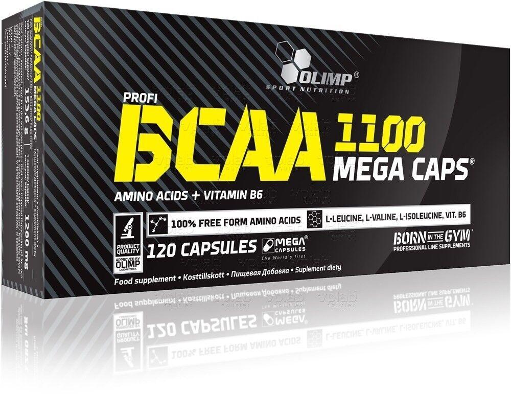 Olimp BCAA Mega caps, 120 капс. - фото 1