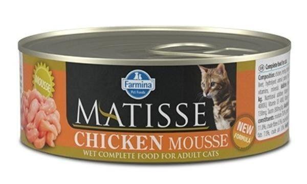 Farmina Консервы Matisse Cat Mousse Chicken, 85 г - фото 1