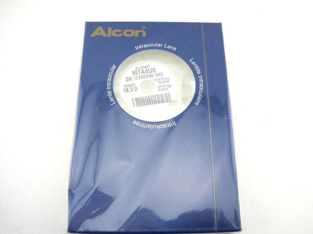 Медицинское оборудование Alcon Линза интраокулярная монофокальная PMMA MTA4UO - фото 1