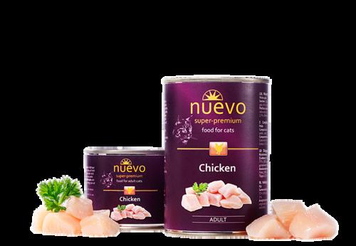 Nuevo Adult Chicken 200 гр. х 12 шт. - фото 1