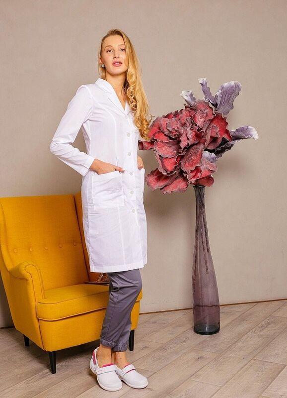 Доктор Стиль Медицинский халат «Джульетта» ЛС 3126.01 - фото 4